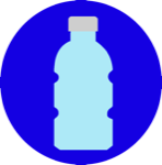 Clean Plastic Bottles and Containers