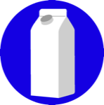Clean Milk and Juice Cartons